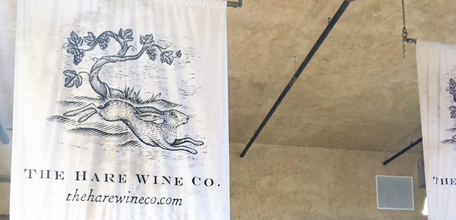 The Hare Wine Co. - Girl Drinks Wine