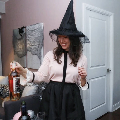 Halloween Wine Party