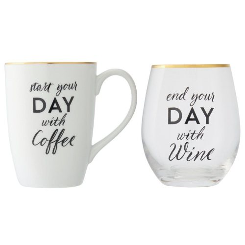 Mug and Wine Set