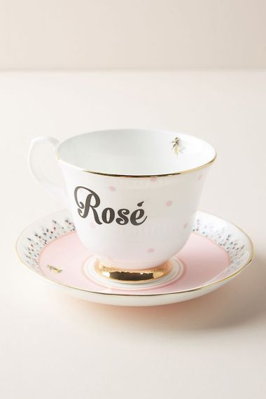 Rose Teacup Anthropoligie