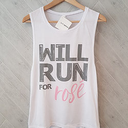 Will Run for Rose Tank