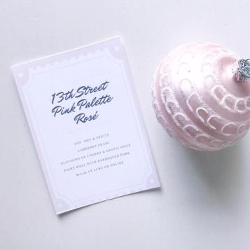 13th Street Pink Palette Rose