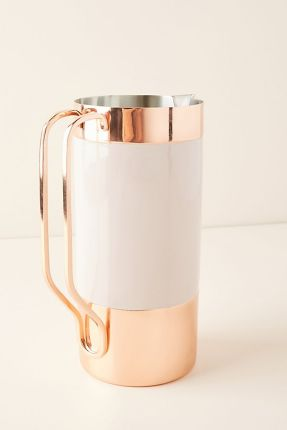 Anthropologie Pitcher