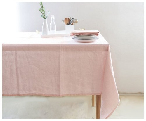 linen table