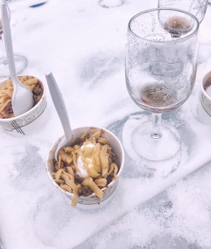 icewine food pairings