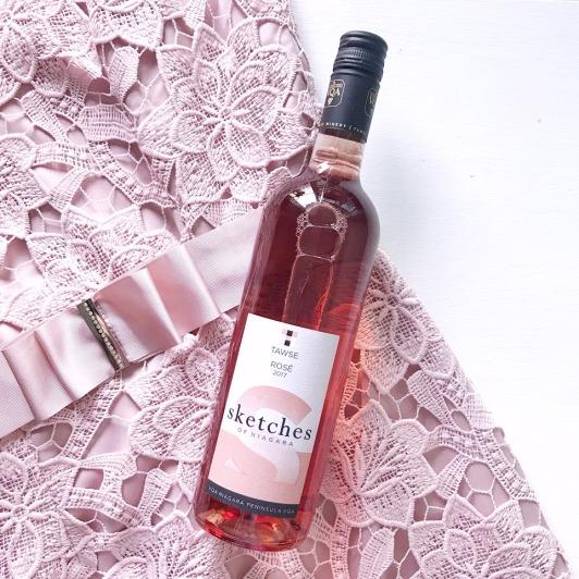 tawse sketches rose wine