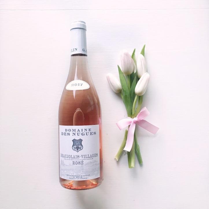 Domaine des Nugues Beaujolais-Villages Rosé 2017 - Wine of the Week