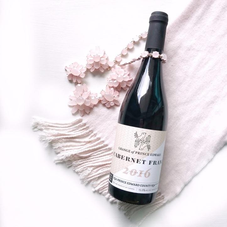 Grange of Prince Edward Cabernet Franc Red Wine - Ontario Wine