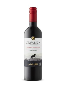 Santa Rita Cavanza Cabernet Sauvignon - Red Wine Under $10