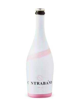 Contraband Sparkling Rose Brut VQA - girl on a budget