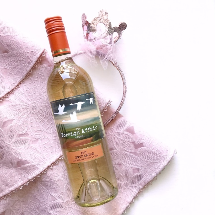 The Foreign Affair Winery White Wine Enchanted - Ontario WIne - Wine of the Week