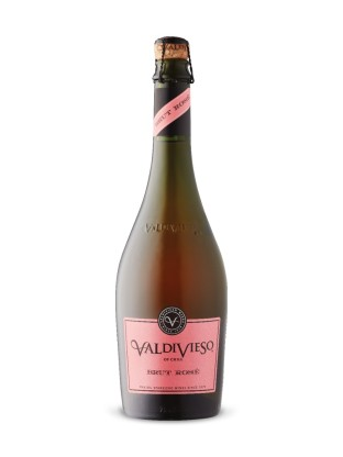 Valdivieso Brut Sparkling Rosé - girl on a budget