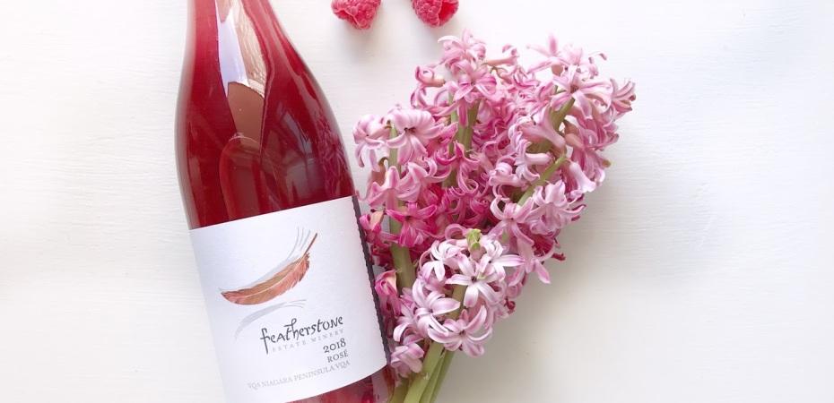 Wine of the Week - Featherstone Rose - Ontario Wine