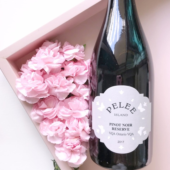 Wine of the Week - Pelee Island Pinot Noir Reserve VQA - Ontario WIne