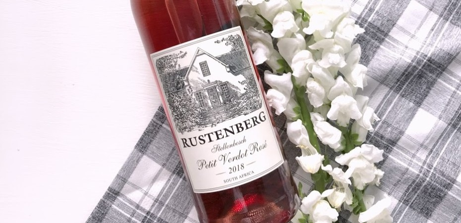 Wine of the Week - Rustenberg Petit Verdot Rose - South Afircan Wine