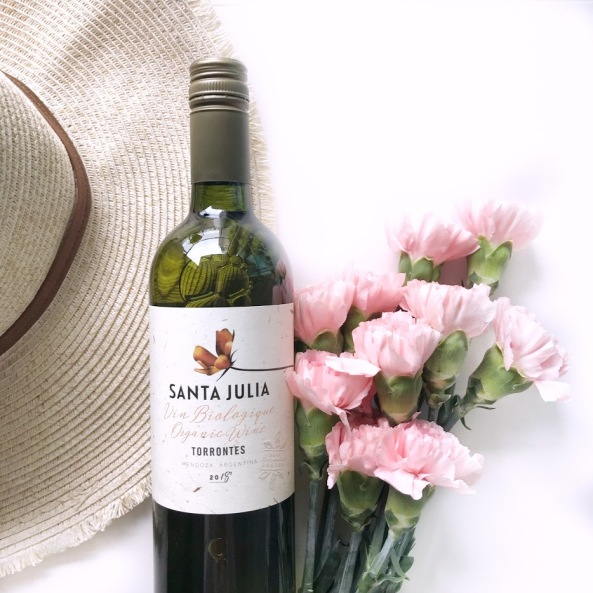 Wine of the week - sanata julia organic torrontes - argentinian wine