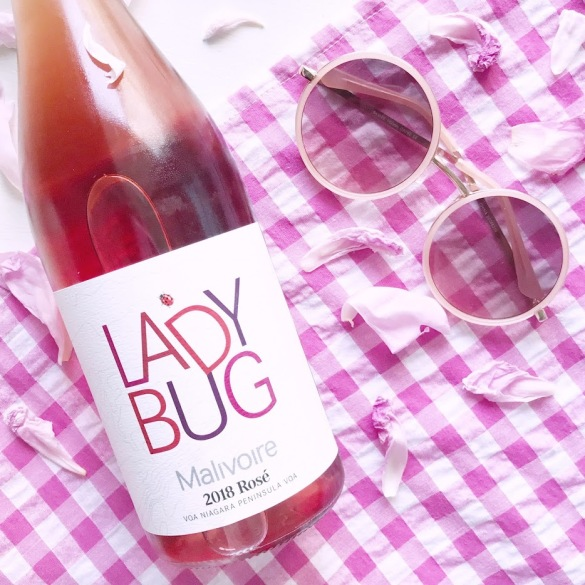 Wine of the Week - Malivoire Lady Bug Rose - Ontario Wines