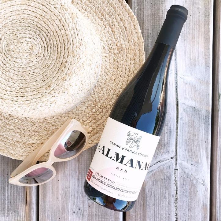 Wine of the Week - the grange of prince edward almanac red vqa - ontario wine