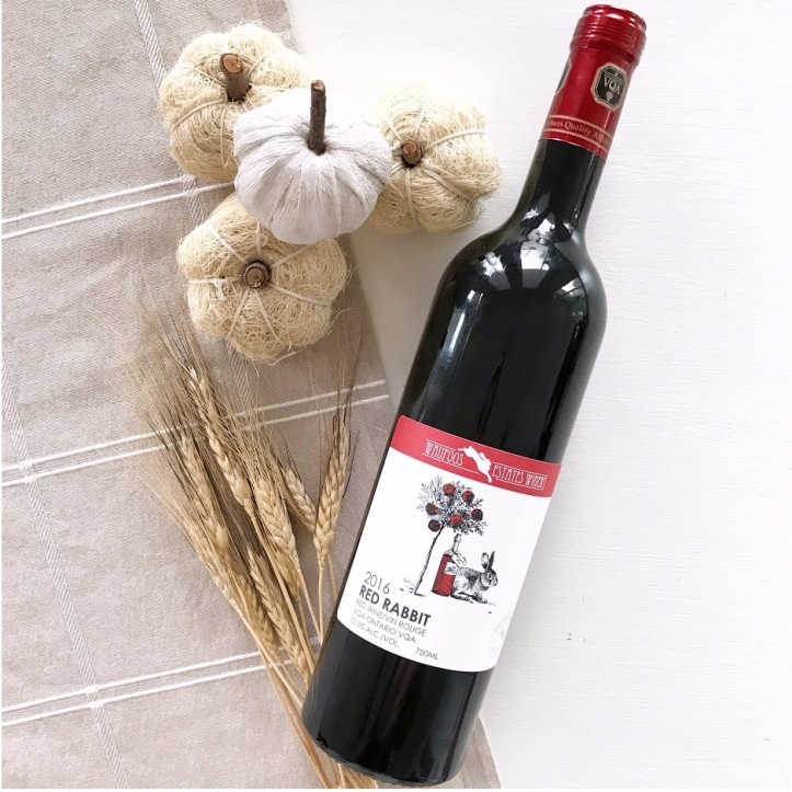 Waupoos Estates Winery Red Rebbit Red Wine Ontario Winery Prince Edward County