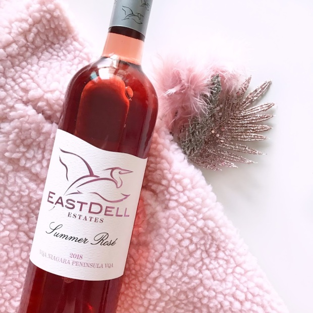 EastDell Summer Rose WIne Review, Ontario Winery