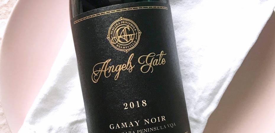Angels Gate Gamay Noir Ontario Red Wine