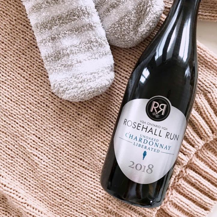 Rosehall Run Unoaked Liberated Chardonnay Local Ontario white Wine