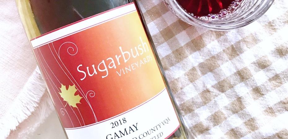Sugarbush Vineyards Gamay Ontario Red Wine