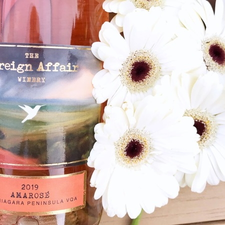 The Foreign Affair Amarose Wine Review Ontario Rose
