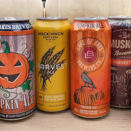 Best Seasonal Fall Pumpkin Oktoberfest Beers Ontario