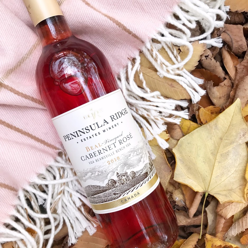 Peninsula Ridge Beal Vineyard Cabernet Rose Wine Ontario Review