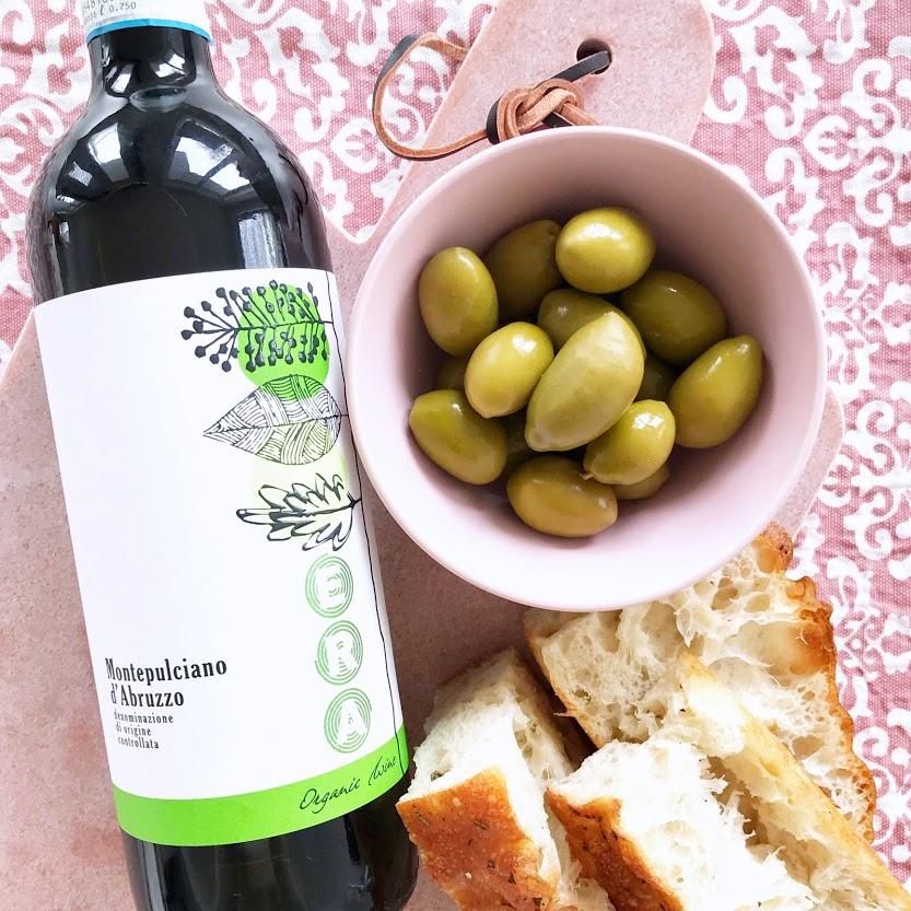Era Montepulciano D'Abruzzo DOC Organic Italian Red Wine
