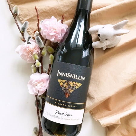 2019 Niagara Estate Series Inniskillin Pinot Noir Review VQA Ontario Wine