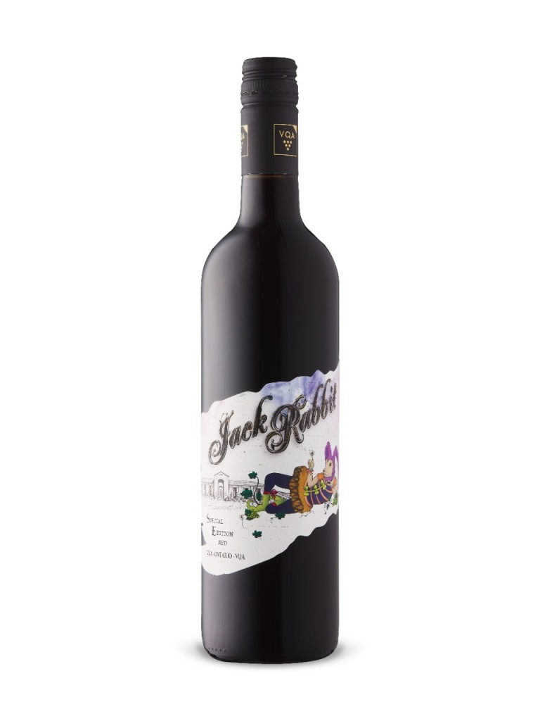 The Hare Wine Co Jack Rabbit Red Wine Ontario VQA