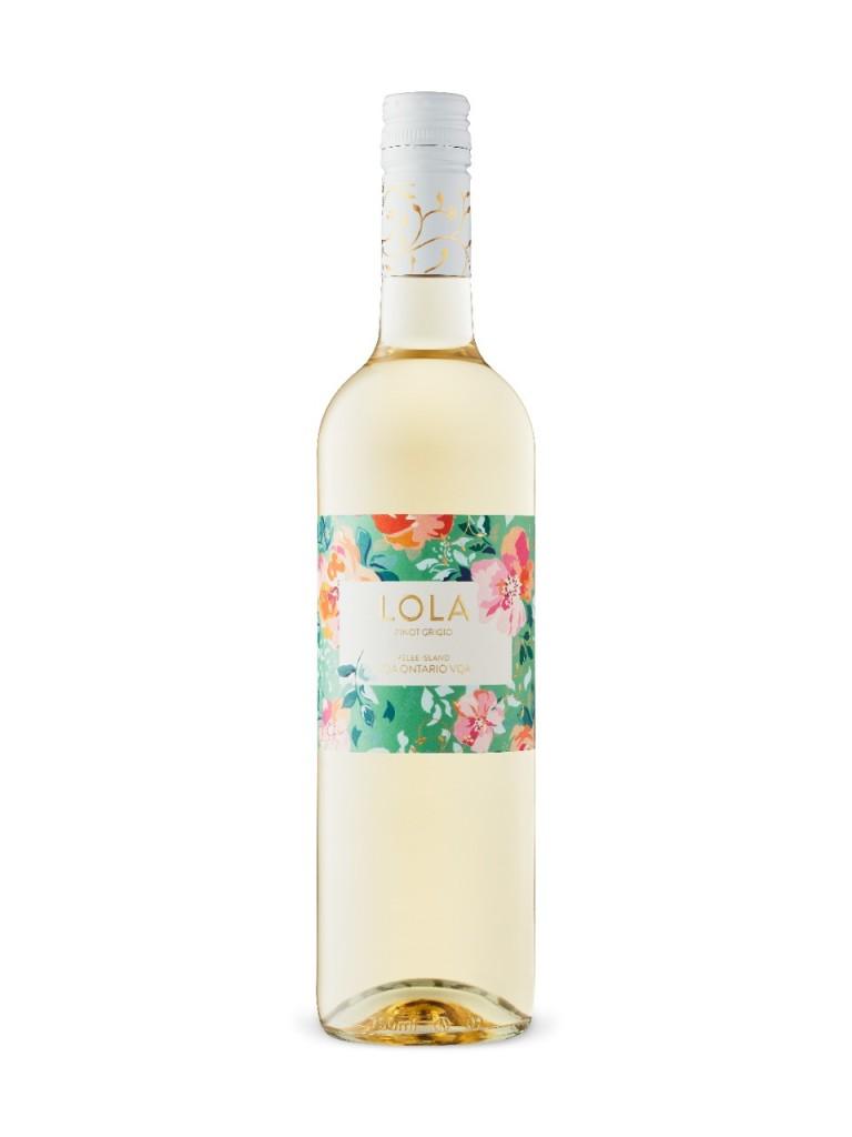 Pelee Island Winery Lola Pinot Grigio white wine ontario vqa