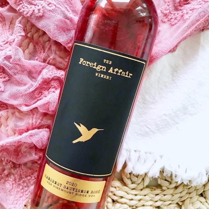 The Foreign Affair Winery Cabernet Sauvignon Rose Wine Ontario VQA