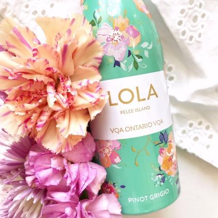 Pelee Island Lola Pinot Grigio 250ml alumunum bottle ontario white wine VQA